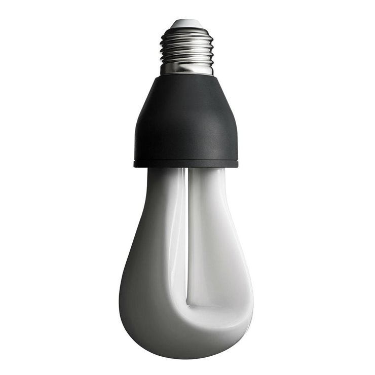 PLUMEN 002  Ampoule LED Décorative E27 Ø6,5cm 2200K 4W = 25W 245 Lumens Dimmable
