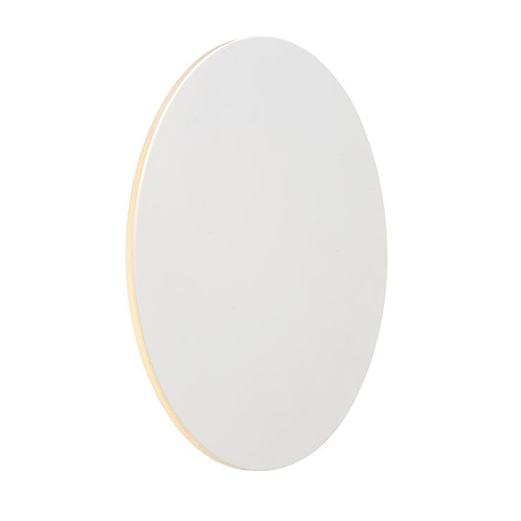 EKLYPS LED Blanc Applique murale ronde LED en métal Ø25cm