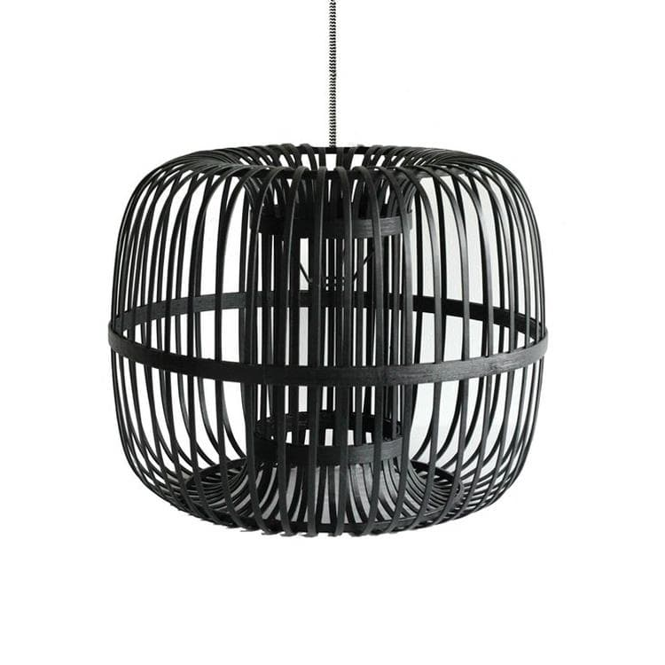 COLOMBO rotin noir Suspension Rotin Ø46cm