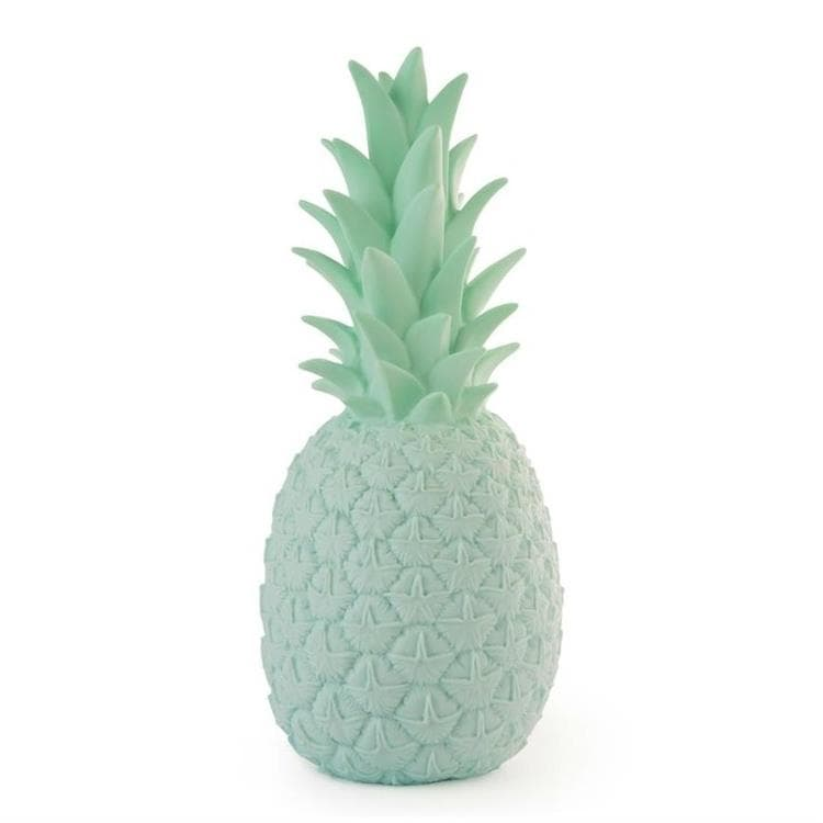 PINACOLADA menthe pastel Lampe/Veilleuse Ananas LED H37cm