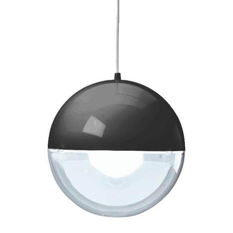 ORION noir et transparent Suspension Ø32,7cm