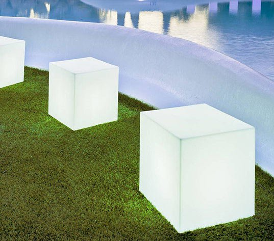 Cubes lumineux outdoor Cuby de New Garden