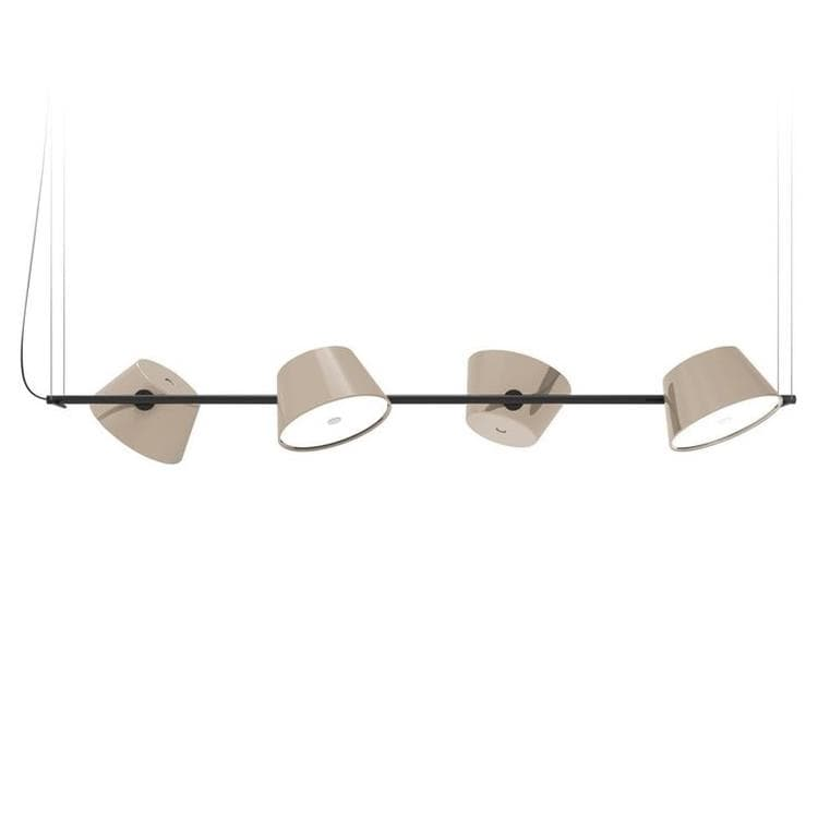 TAM TAM sable Suspension 4 lumières L145cm