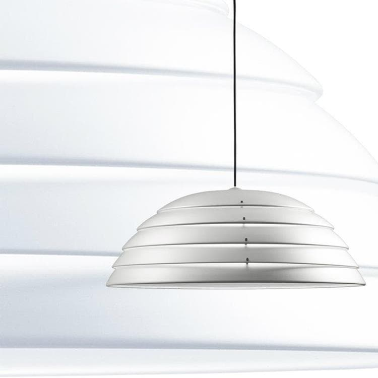 CUPOLONE Blanc Suspension Métal Ø60cm