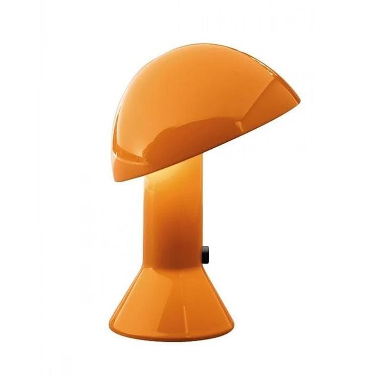 ELMETTO Orange Lampe à poser H28cm