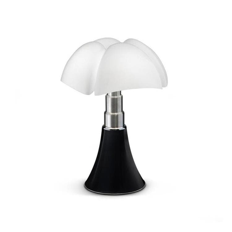 MINI PIPISTRELLO CORD-LESS Noir Lampe Nomade LED H35cm