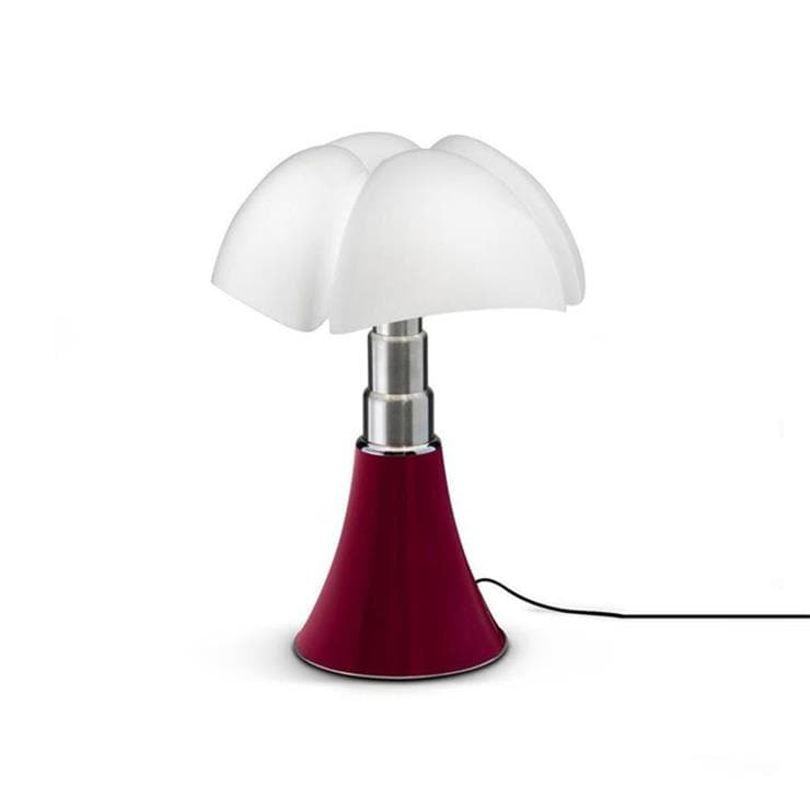 MINI PIPISTRELLO Rouge Lampe Dimmer Touch LED H35cm