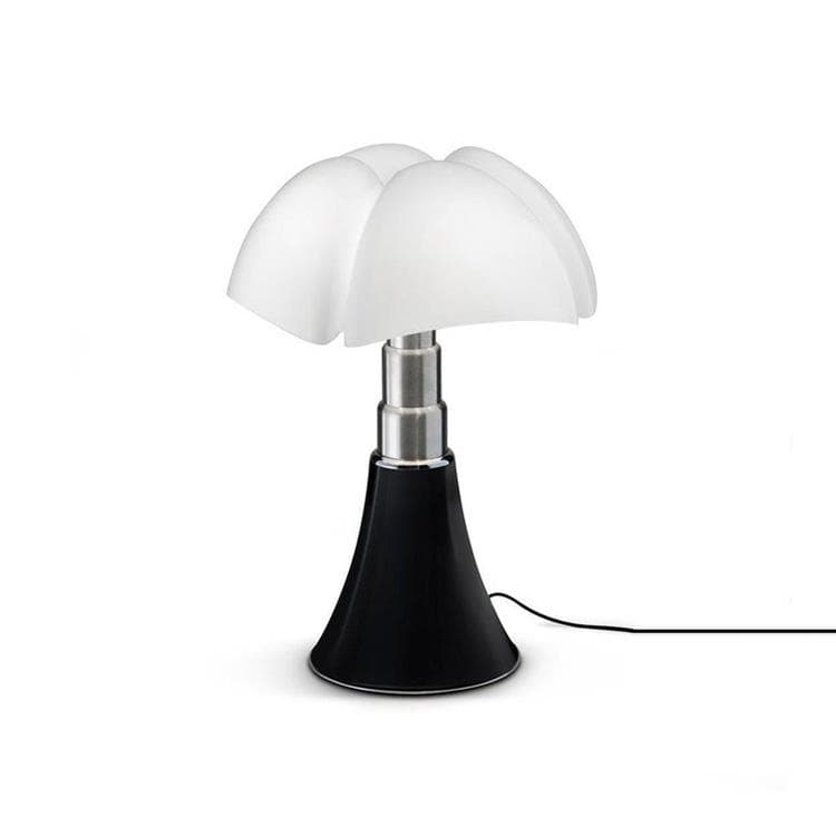 MINI PIPISTRELLO Noir Lampe Touch LED H35cm