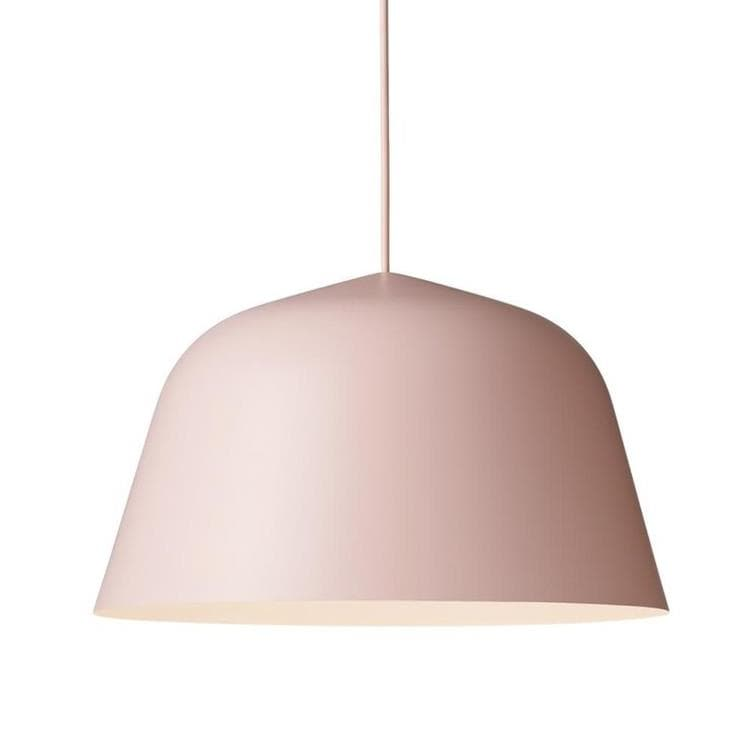 AMBIT rose poudré Suspension Ø40cm