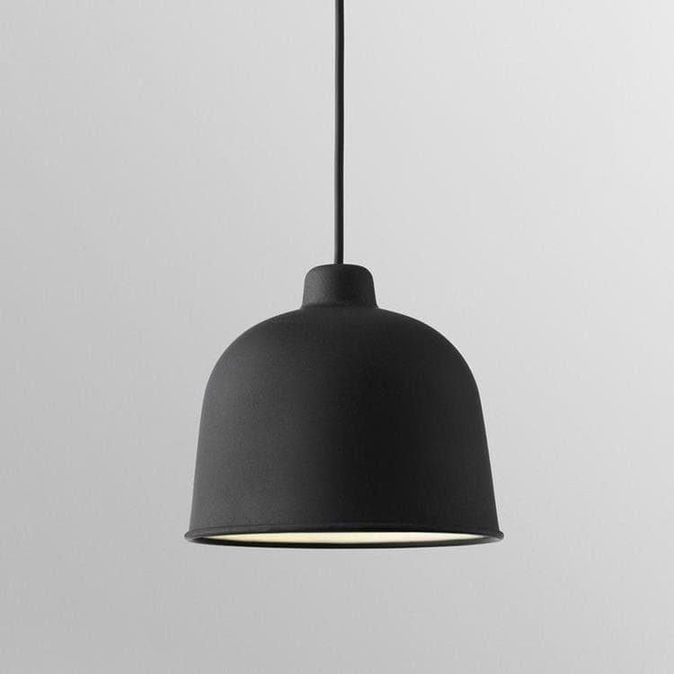 GRAIN - Suspension Noir Ø21cm Muuto