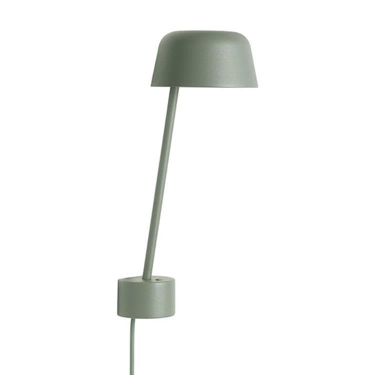 LEAN vert mousse Applique murale LED H31cm