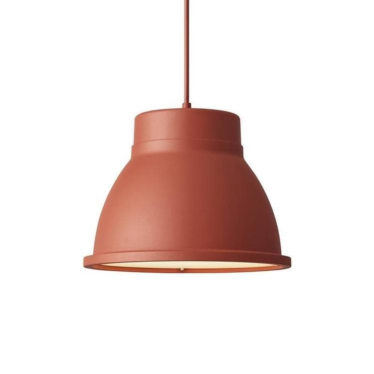 STUDIO rouge inspiration rouille Suspension Ø39cm