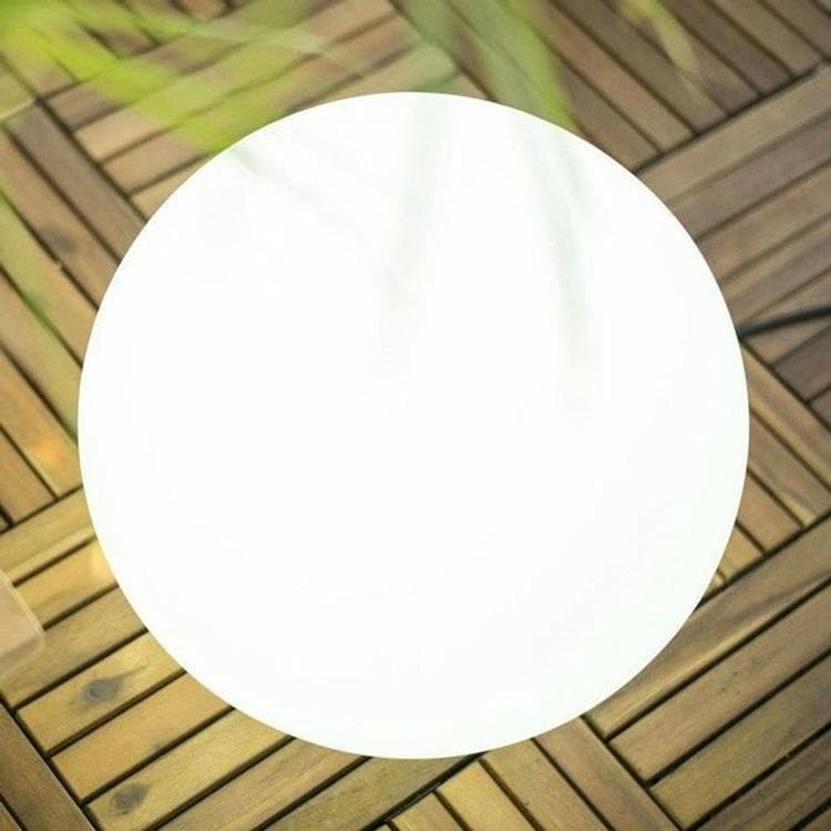 buly lampe baladeuse d 39 ext rieur rgb solaire rechargeable 30cm blanc new garden 59 90. Black Bedroom Furniture Sets. Home Design Ideas