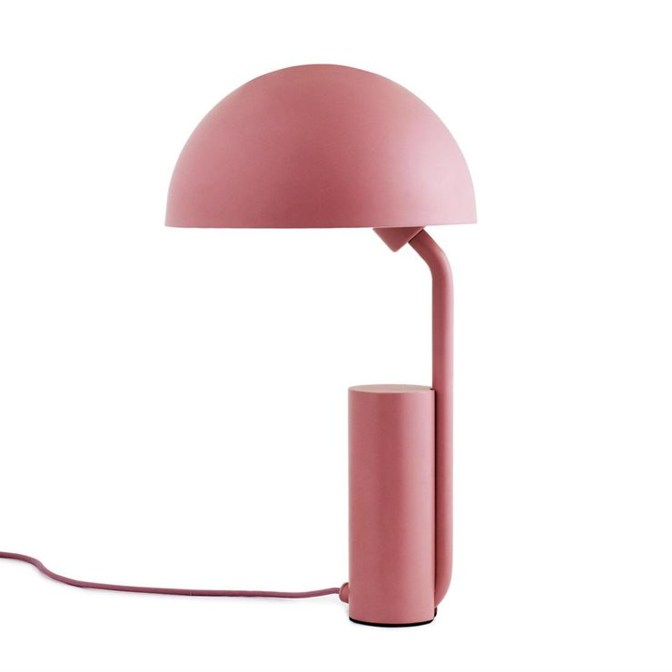 CAP rose blush Lampe de table Métal H50cm