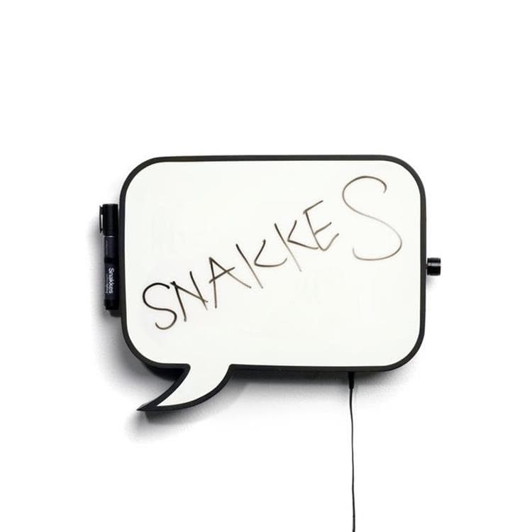 SNAKKES - Applique tableau H25,7cm Northern Lighting
