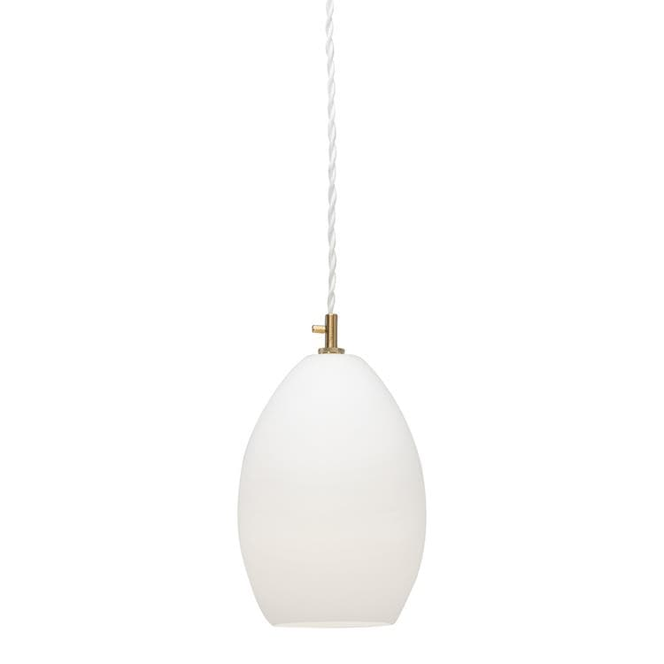 UNIKA Blanc Suspension Verre Ø14cm