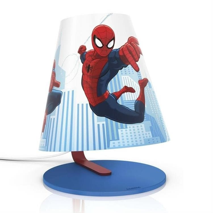 Luminaire enfants Philips - Disney - Lampe De Chevet Led Spiderman H24cm