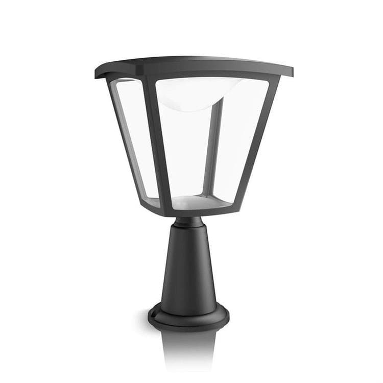 borne d 39 ext rieur led noir h36 5cm cottage luminaire d 39 ext rieur philips design lampes. Black Bedroom Furniture Sets. Home Design Ideas