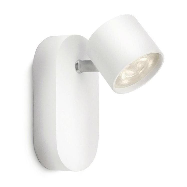 STAR Blanc Spot LED Orientable Métal H8,2cm