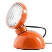 Lampe à poser Azimut Industries 1969 - Lampe à poser Orange Brillant Ø11cm