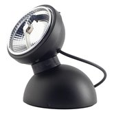 Applique Azimut Industries MONOPRO 360° - Lampe à poser LED Noir Ø11cm