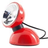 Applique Azimut Industries TOUCH 360° - Lampe à poser Rouge Brillant  Ø11cm