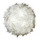 Applique Slamp VELI - Applique ou Plafonnier Blanc Ø78cm