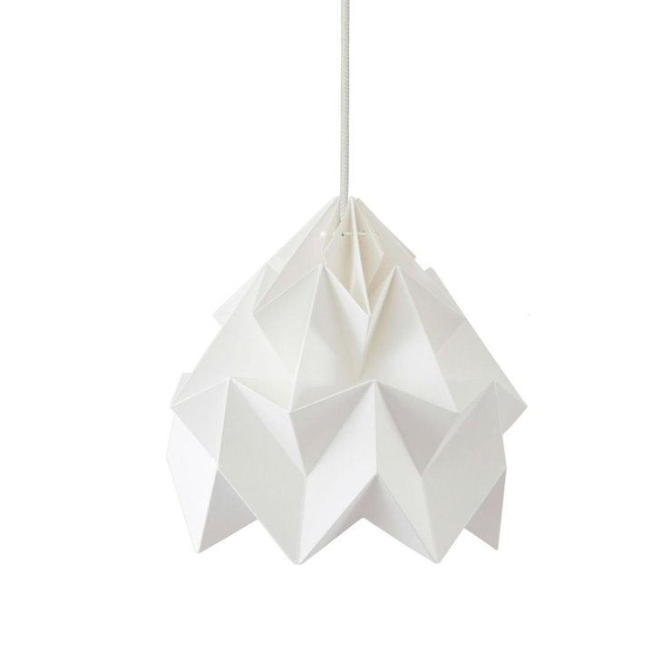 MOTH Blanc Suspension Papier Ø20cm