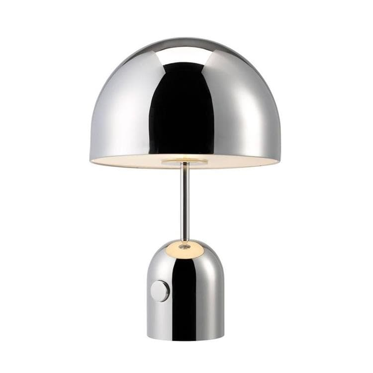 BELL TABLE Chrome Lampe à poser H44cm