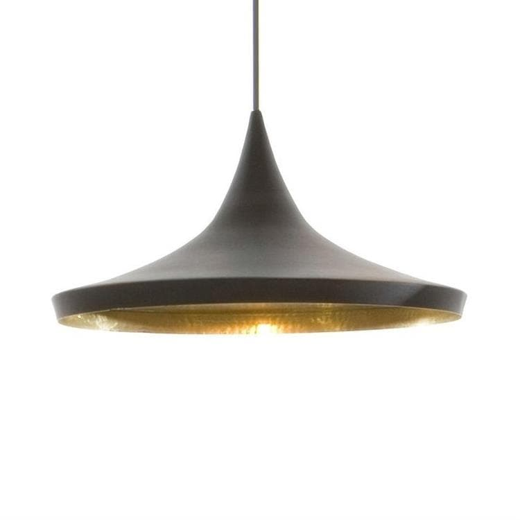 Suspension Noir & Or Ø36cm - BEAT WIDE Suspension Tom Dixon Tom ...