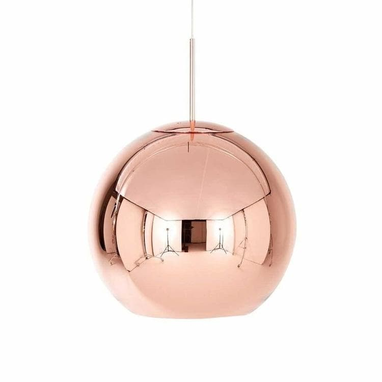 COPPER ROUND Cuivre Suspension Ø45cm