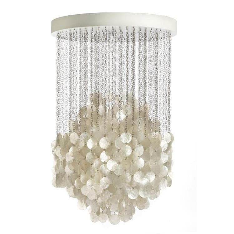 FUN nacre blanc Suspension Ø56cm