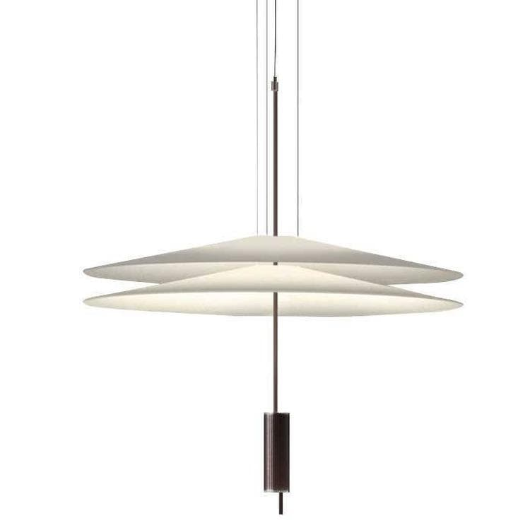 FLAMINGO graphite Suspension LED 2 Lumières Ø70cm