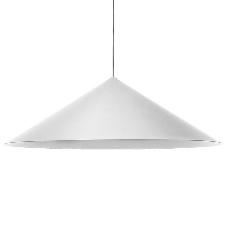 CKR Blanc Suspension LED conique Ø135cm