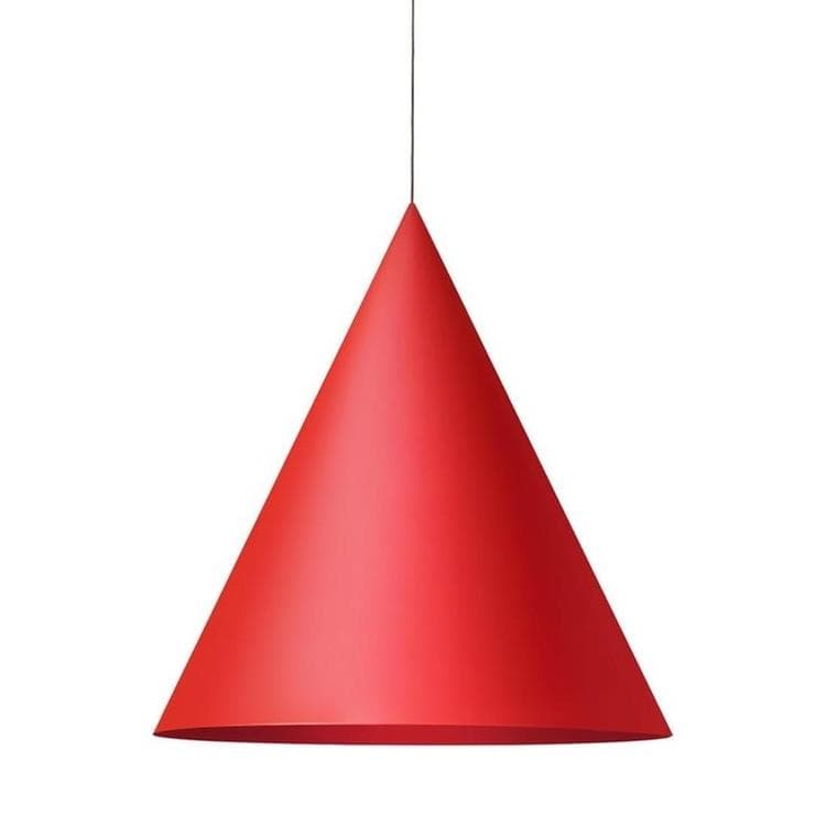 CKR Rouge Suspension LED conique Ø76