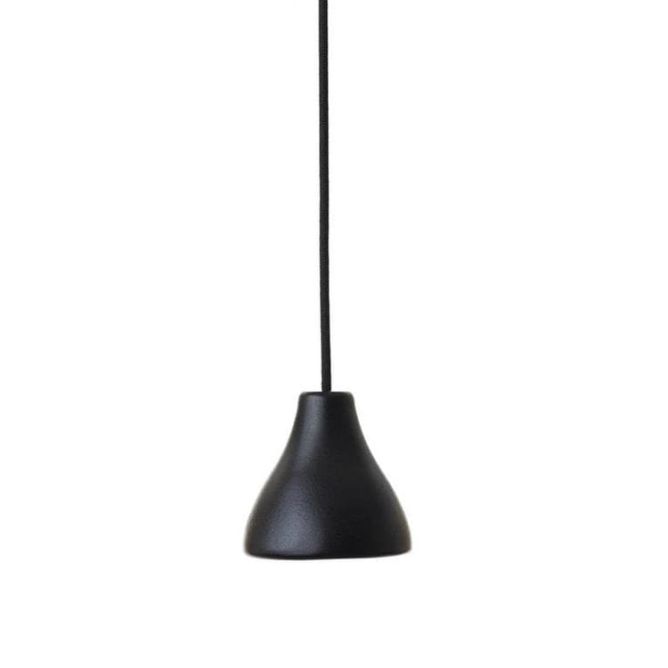 CKR W131 Noir Suspension Aluminium Recyclé Ø12cm