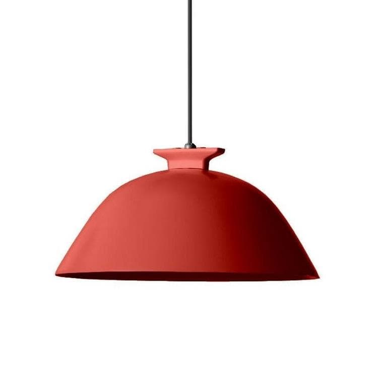 SEMPE W103S1 rouge câble noir Suspension LED Métal Ø28cm