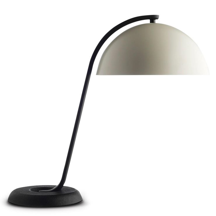 CLOCHE - Lampe à poser Noir/Blanc H42cm Wrong for Hay - Wrong London