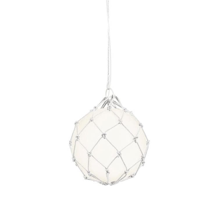 FISHERMAN Blanc Suspension Ø30cm