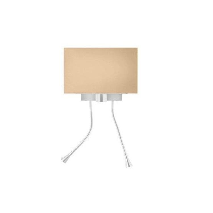 WEEKEND Beige/crème Applique + 2 Flexibles LED Blanc L32cm