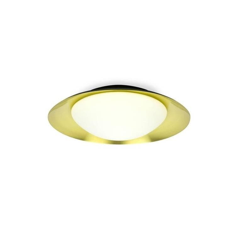 SIDE Or Applique ou Plafonnier LED rond Métal Ø39cm
