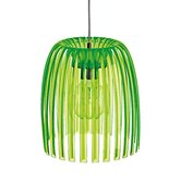Suspension Koziol JOSEPHINE - Suspension Vert Transparent Ø30,5cm
