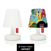 Lampe à poser Fatboy EDISON THE PETIT - Lot de 2 lampes à poser LED rechargeable H25cm + 1 Cooper Cappie Monsters OFFERT