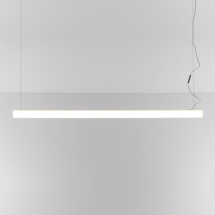 ALPHABET OF LIGHT Blanc Suspension LED linéaire L180cm