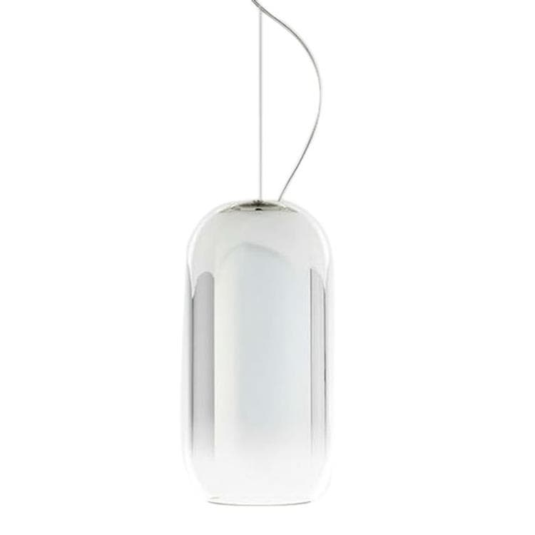 GOPLE MINI Argenté Suspension Verre Ø14.5cm