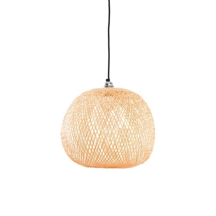 PLUM SMALL bambou naturel Suspension Bambou Ø34cm