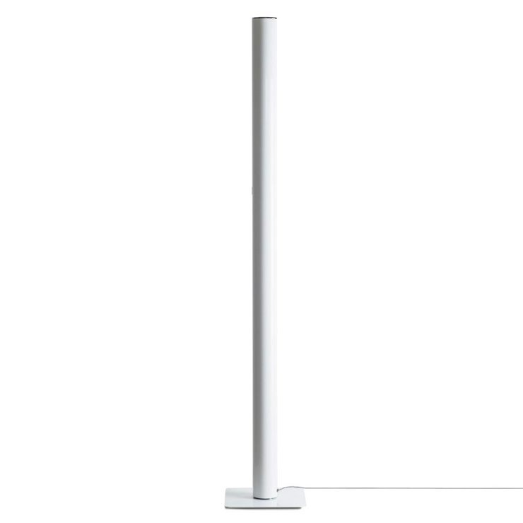 ILIO Blanc Lampadaire LED colonne H175cm 2700K Application Connectée