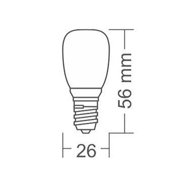 Lot de 50 Ampoules E14 LED Dimmable  2.7 Watt, 2700k pour Suspension 2097/50 FLOS