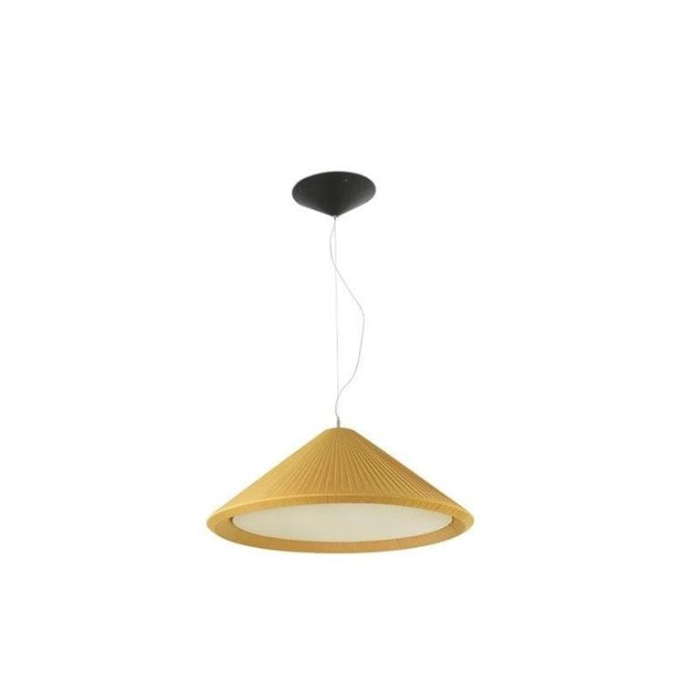 HUE IN Jaune Suspension Textile Ø70cm