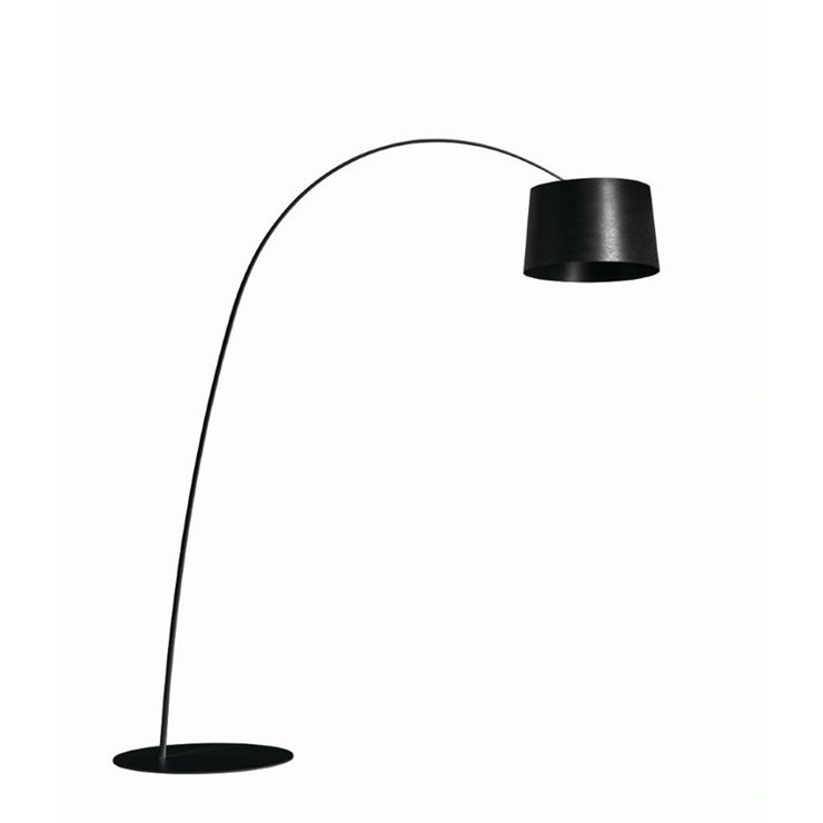 TWIGGY MY LIGHT Noir Lampadaire Arc LED variateur Bluetooth H215cm